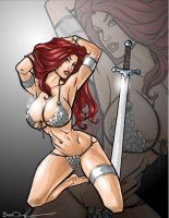 RED SONJA by Bradleyo