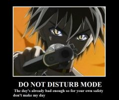 Do not disturb Demotivational by MegadudeX13