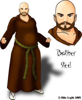 Brother Steel: Concept Art by Cei-Ellem