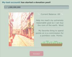 Paris streets pointbox/donation pool code by My-test-accountt