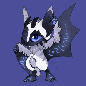 North Bat [Sold] by BessReed