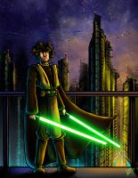 :: Jedi Master Ben Massing :: by warui-shoujo