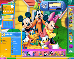World of Disney Desktop by a666a