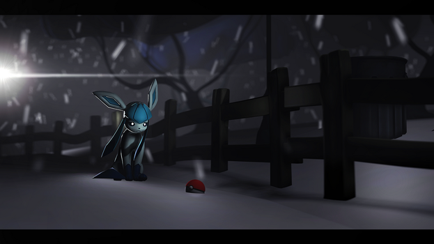 alone Glaceon by Turbovilka