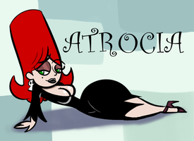 Obscure Characters: Atrocia by AtomicKingBoo