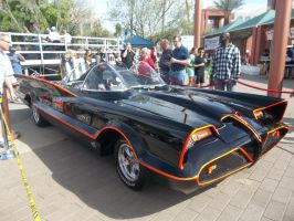 The Batmobile by Blockwave