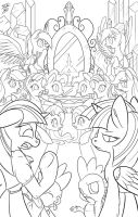 EQG in Equestria Cover_Lines by Tsitra360