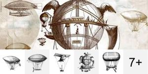 Dirigibles PS Brushes by Designslots