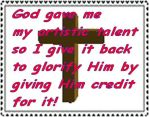 Christian Stamp 1 by Grizzled-Dog