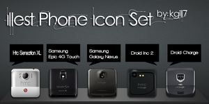 Illest Phone Icon Set by kgill77