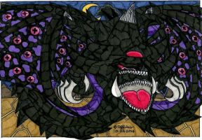 Malassa YuGiOh *Slifer the Sky Dragon Design* by trinityweiss