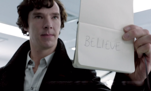 Tumblr BELIEVEINSHERLOCK Project by MagicBunni