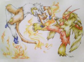 Fighting Fire with Fire by Silverbirch