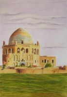 Soltaniyeh dome by Leogon