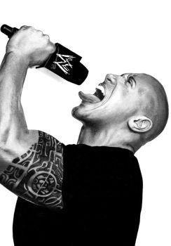 Dwayne 'The Rock' Johnson by Menco