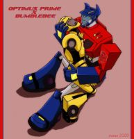 Optimus_Bumblebee by Evess
