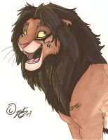 Random Lion by NatAsplund