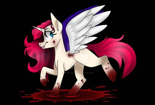 Bloody pone by sanzysanpai