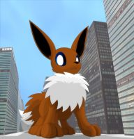 Giant Eevee #2 of ? by hlavco