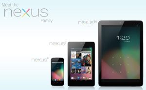 The Nexus Family - Nexus 4, 7, and 10 by CapuchinoMedia