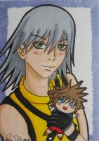 SoRiku: Riku Hearts It by LadyNin-Chan