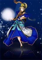 Cai Wenji in Dynasty Warriors7 by Draven4157
