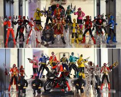 S.H.Figuarts Collection - Super Sentai by ZaEmpera