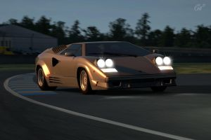 Lamborghini Countach by Galactic-Rev