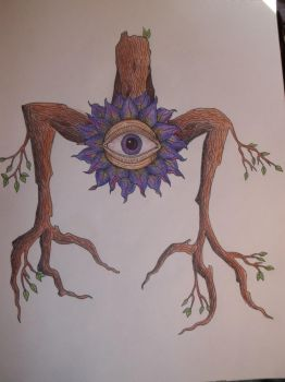 eyeball plant by thatonegirl99
