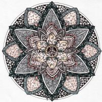August Mandala 9 by Artwyrd