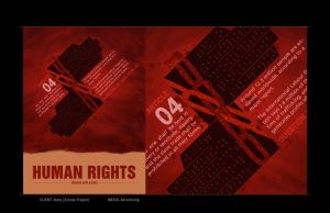 Human Rights Poster by depthskins
