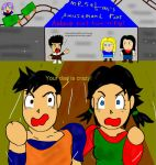 """Your dad is crazy"" by Videl-Gohan"