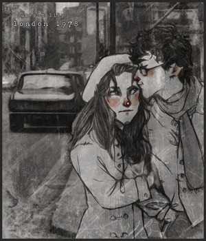 -James + Lily 1978- by HennaFaunway