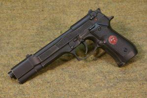Resident Evil Beretta Red 002 by Matsucorp