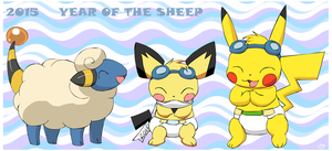 2015: Year of the Sheep by pichu90