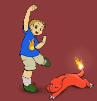 Pokemon Trainer Andrew by mewgal