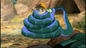 1st encounter Genki and Kaa by pasta79