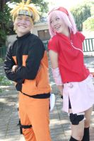 Narusaku Phtoshoot Behind The Scenes by Lawrielle21