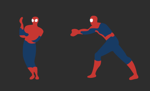 Dancing Spider man by Juques