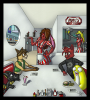 Ruby's Diner by goldwater