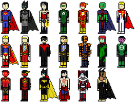 New 52 Characters by Shadows-Twilight