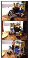Meccano Steam Car by Frohickey