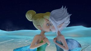 tinkerbell y periwinkle beso 2 by tailsxamyporsiempre