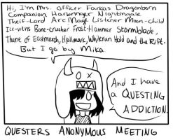 Questers Anon by MikaMonster