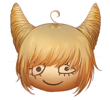 MAGE- Croissant hair by avodkabottle