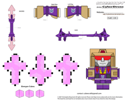 Cubee - Blitzwing '2of2' by CyberDrone