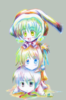 ::RainBow ChiBis:: by imaginary-ang3l