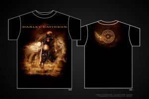 Harley Davidson - Clouds by damnengine