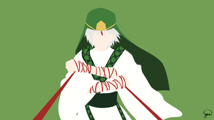 Ja'far (Magi) Minimalist Wallpaper by greenmapple17
