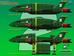 Thunderbird 2 - Side Profiles by haryopanji